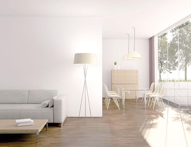 Weisse Wand Deckenfarbe Vincent Farben