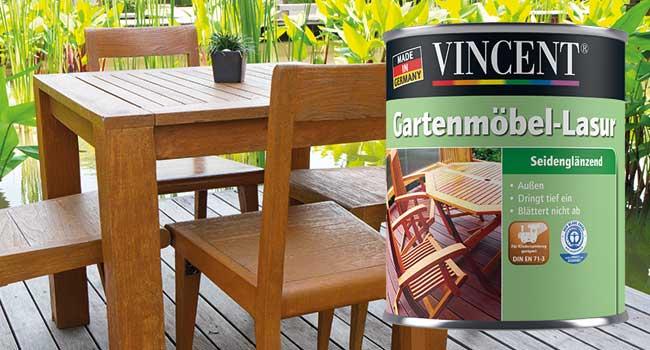 Terrassen Gartenmobel Vincent Farben